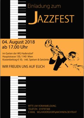 Jazzfest Hadersdorf 2018