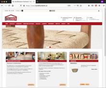 Webseite der Korbflechterei Fachwerk