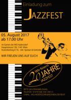 Plakat Jazzfest Hadersdorf